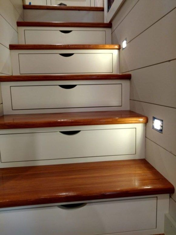 Simple Small Stairs To Inspire 09 | attic ladder | Attic ladder
