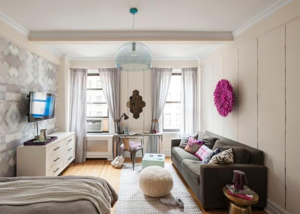 14 Functional + Chic Studio Apartment Makeovers