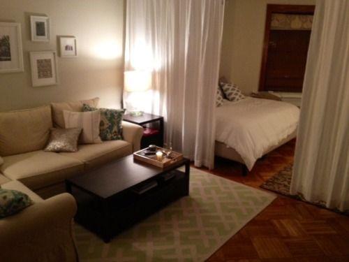 Simple Suite Room Apartment Decorating