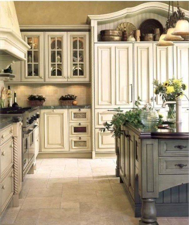 36 Simply French Country Home Decor Ideas | Kitchens I like