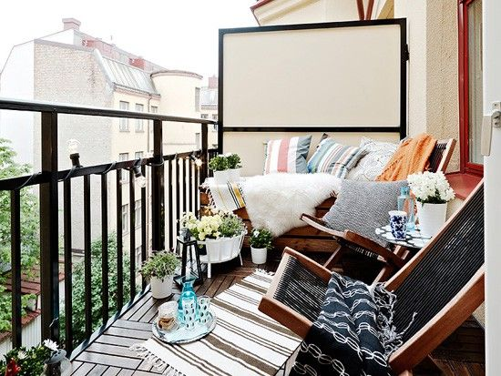 SMART IDEAS FOR YOUR SMALL APARTMENT BALCONY | Outdoors Living