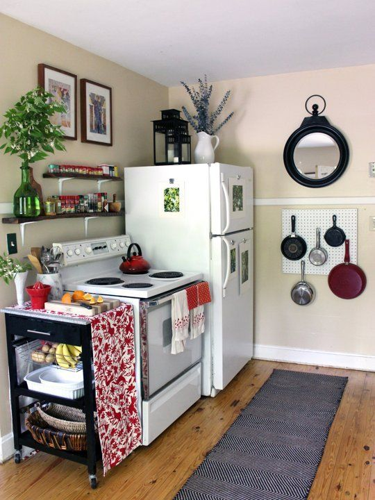 19 Amazing Kitchen Decorating Ideas | Home | Small apartment kitchen