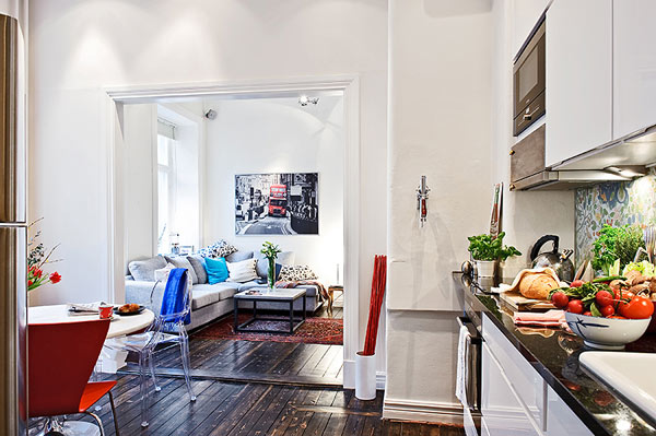 A Small Apartment With A Smart Interior Design That Fulfills All