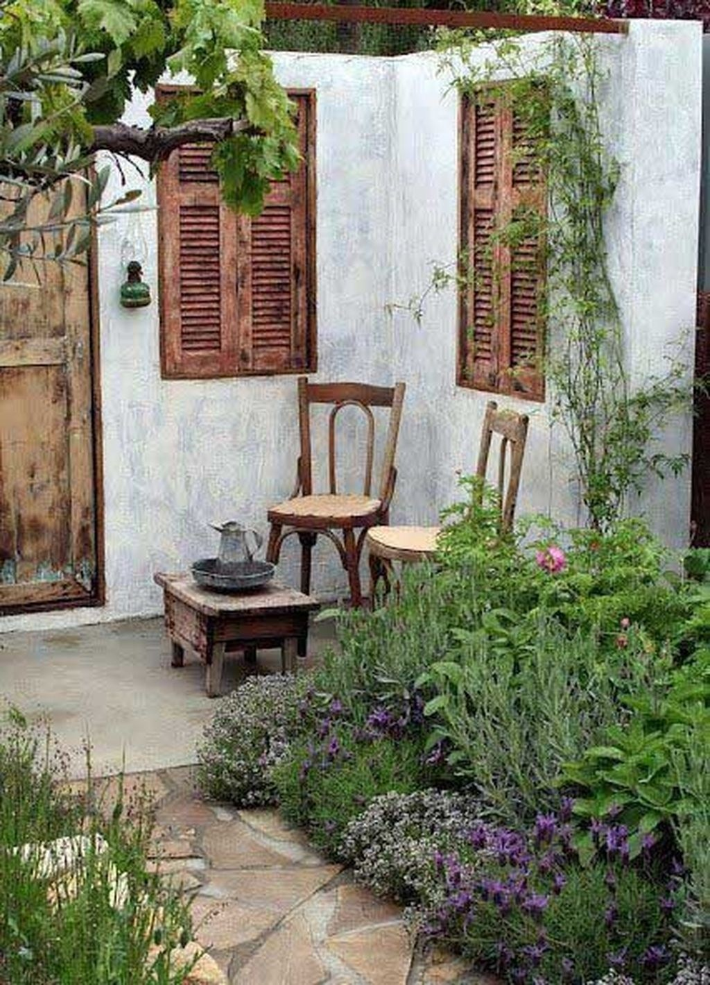 50 Inspiring Small Courtyard Garden Design Ideas for Your House