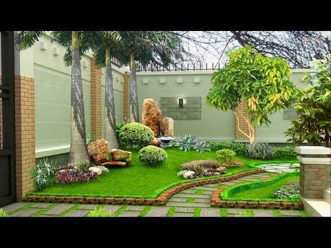 Landscape Design Ideas - Garden Design for Small Gardens - YouTube