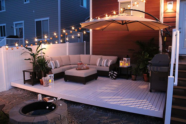 How to Build a Simple DIY Deck on a Budget | Garden + Outdoor