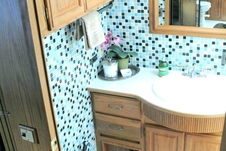 Small Bathroom Ideas In Rv Small Trailers Bathroom The Fold Down