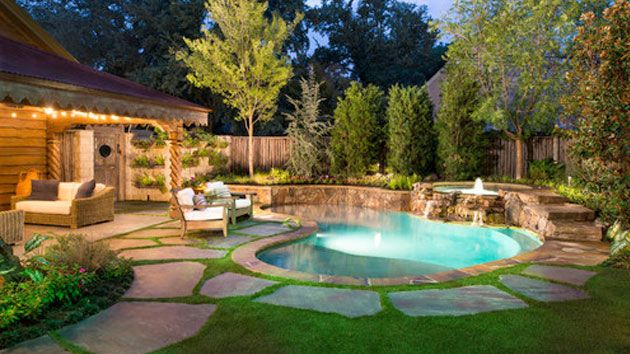15 Amazing Backyard Pool Ideas | gardening/outdoor areas | Small
