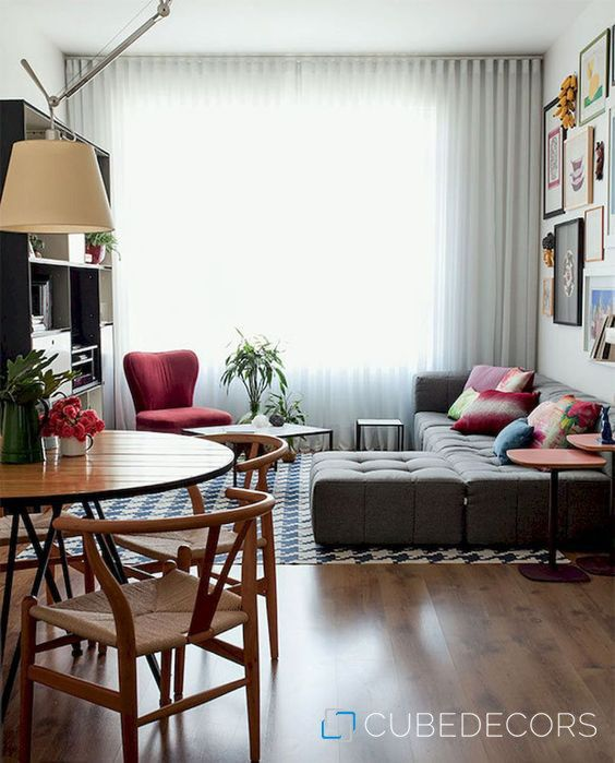 Smart and creative small apartment decorating ideas in 2019