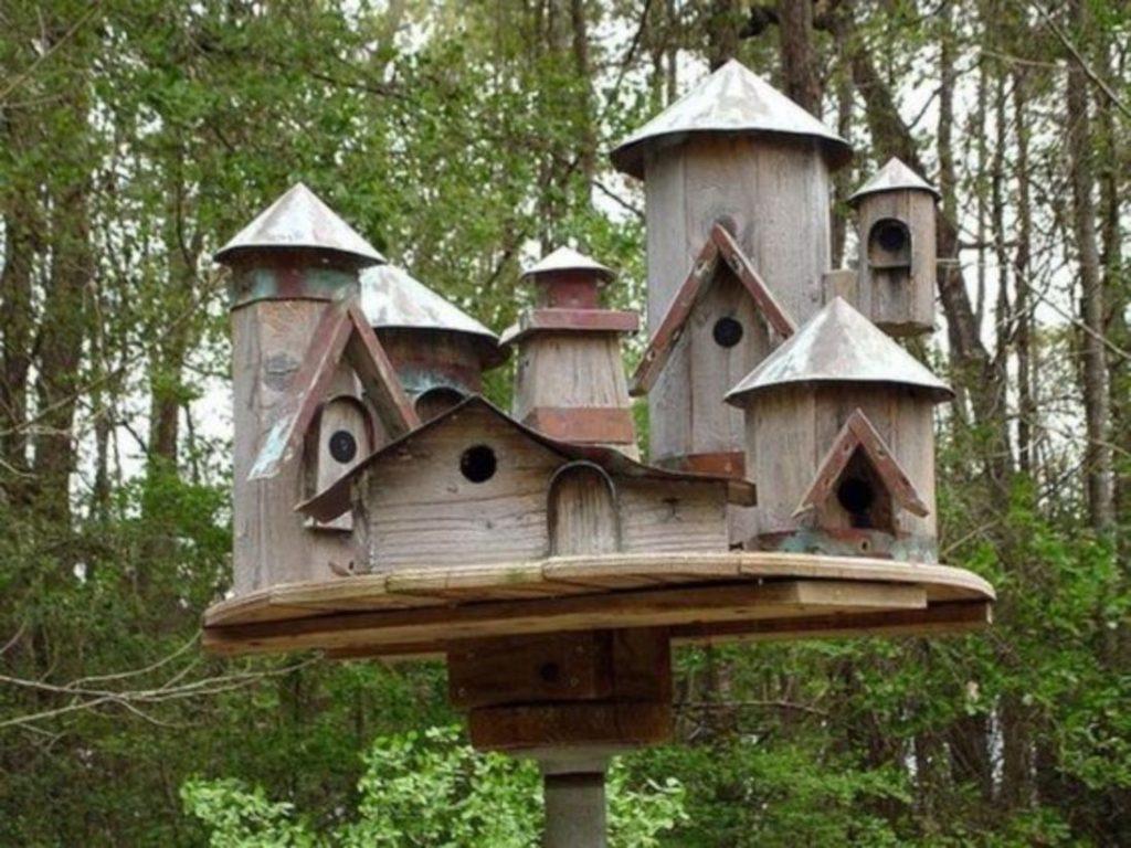 Stand Bird House Ideas Garden Ideas 10