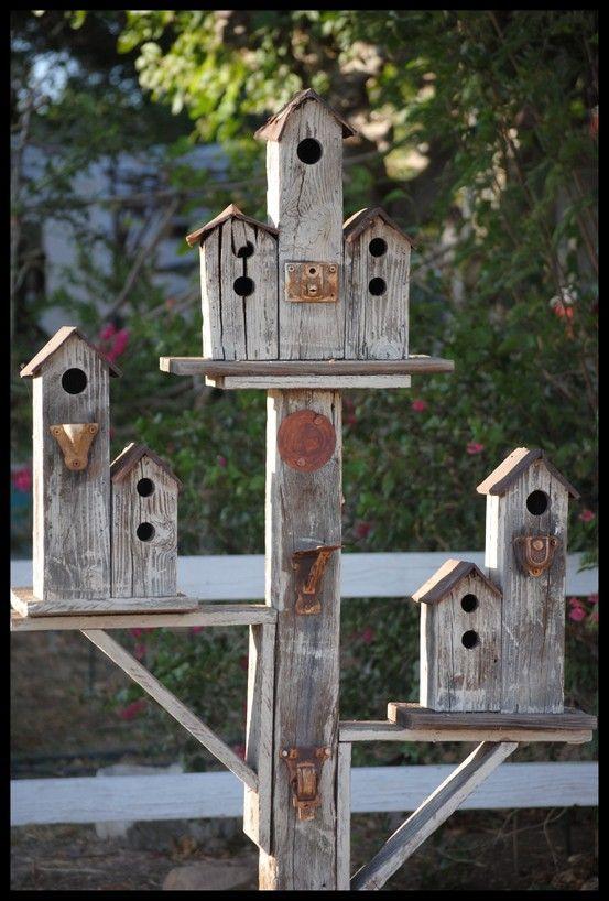 35 Beautiful Birdhouse Design Ideas | Garden/Jardín | Bird houses