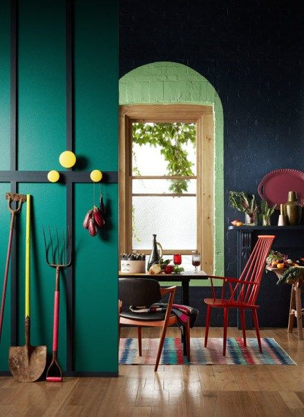 22 Stunning Interiors That Will Inspire you to Paint Your Space