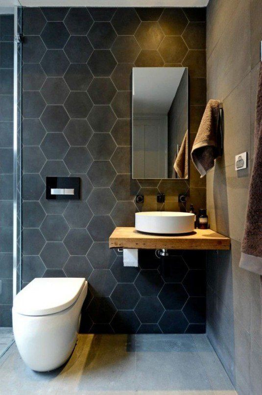 Modern And Stylish Small Bathroom Design Ideas | PROJECT: Collins St