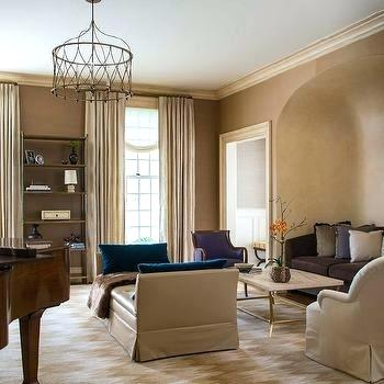 Taupe Living Room Decorating Ideas Home Interior Decorating Ideas