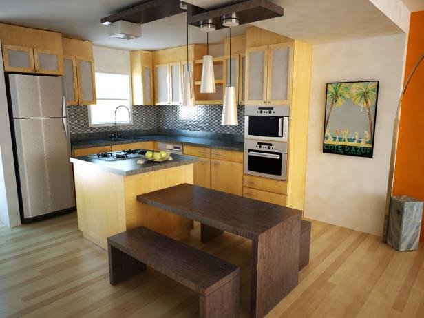 Tiny Kitchen Island Designs 3