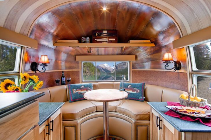 25 Charming Modern Airstream Trailer Interior Ideas For Joyful