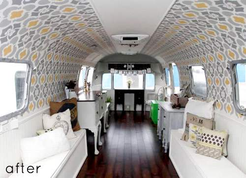 15 Awesome Airstream Interiors You Have to See | Mobile Home Living