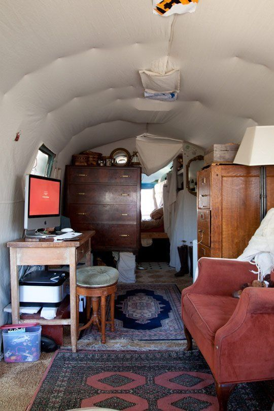 Julie's Unbelievable Airstream Trailer, Shed and Art Studio | Gypsy