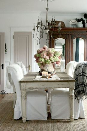 68 Best Fancy French Country Dining Room Design Ideas | Dining rooms