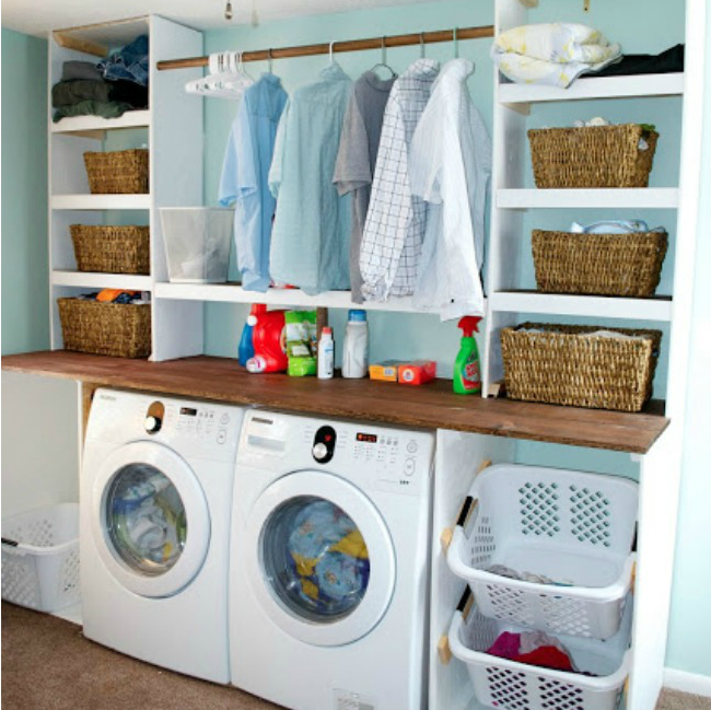 The 11 Best Laundry Room Organization Ideas | Home renovation