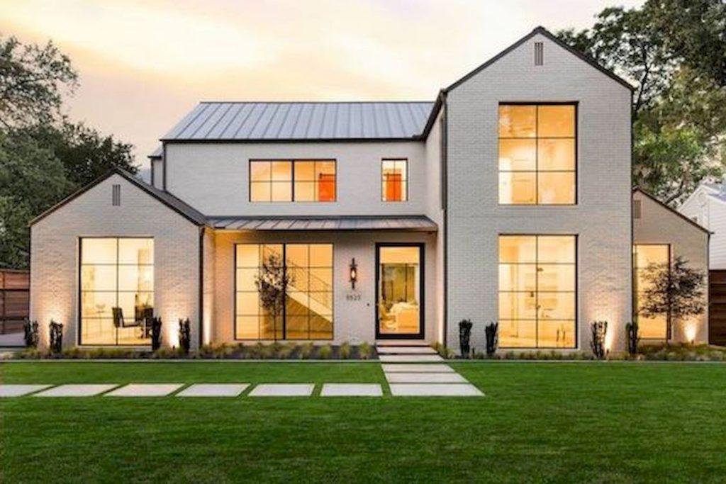 Top Modern Farmhouse Exterior Design Ideas 8