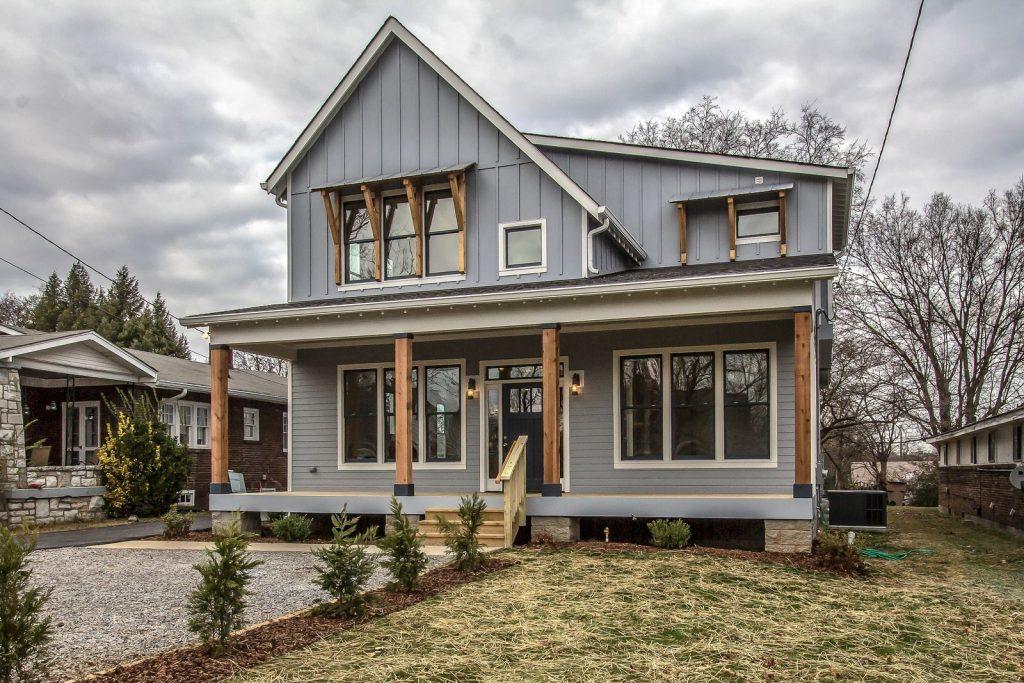 Top Modern Farmhouse Exterior Design Ideas 9