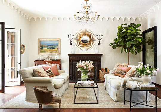 Decorating Ideas: Elegant Living Rooms | Traditional Home