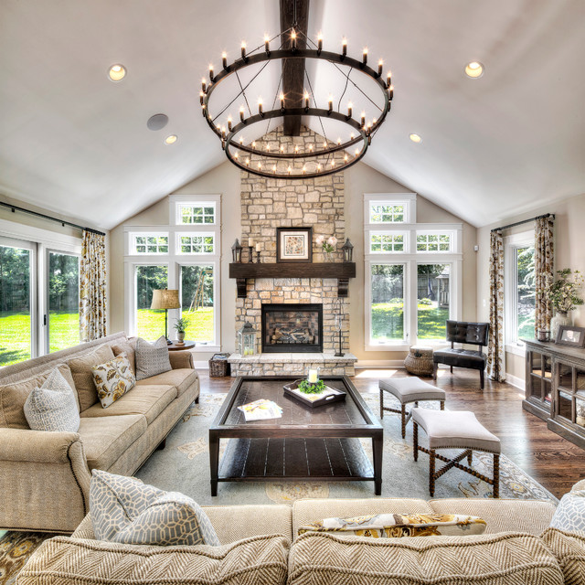 Home Addition - Traditional - Living Room - Kansas City - by L Marie