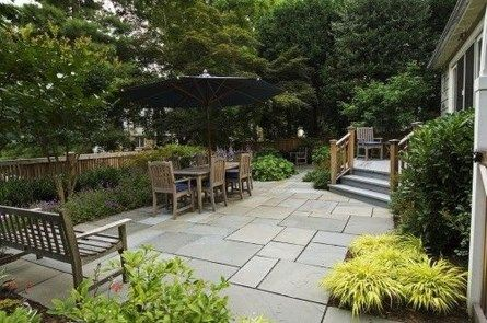 Traditional Rustic Garden Patio Flooring Ideas