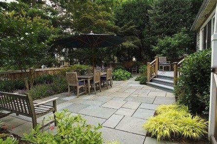 Traditional Rustic Garden Patio Flooring Ideas 1