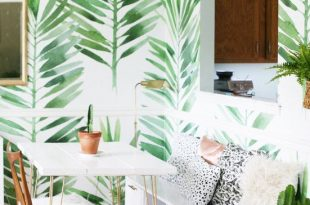7 Tropical Wallpapers To Decorate Your Home With | forever 21 | home