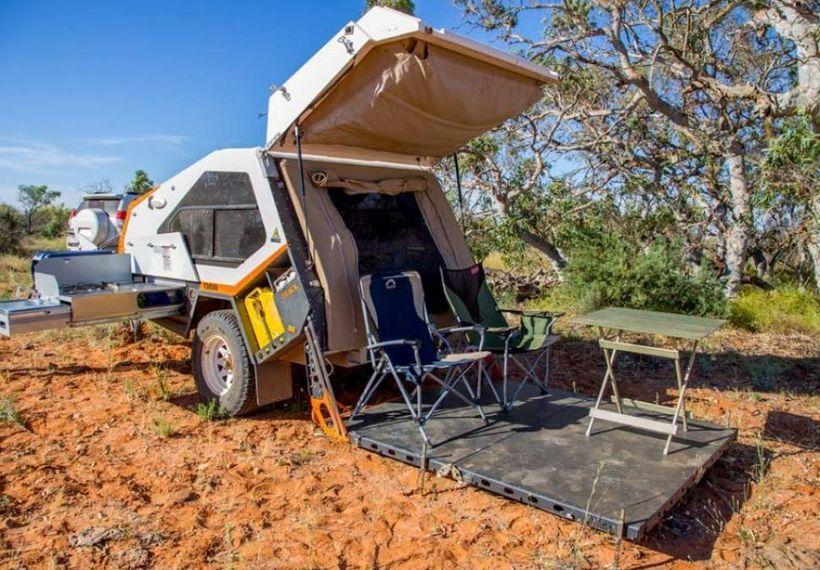 Amazing Tvan Camper Hybrid Trailer Gallery 26 - DecOMG