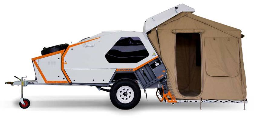 Head for the hills with the Track Tvan camper trailer | TreeHugger
