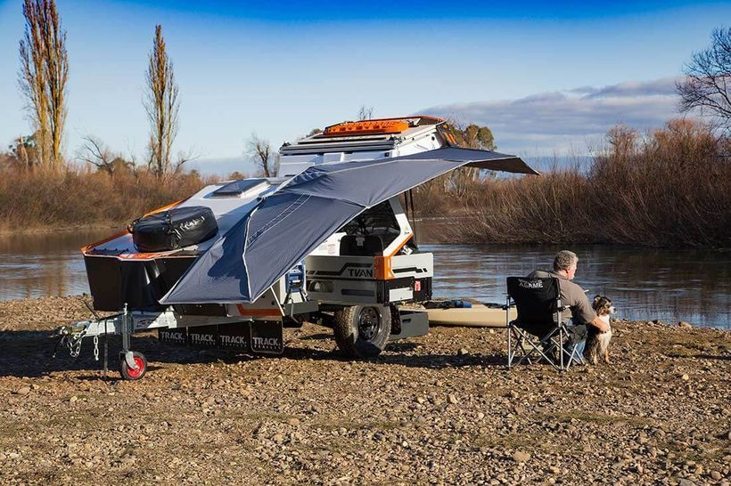 30 Amazing TVan Camper Hybrid Trailer Gallery that Must You See | RV