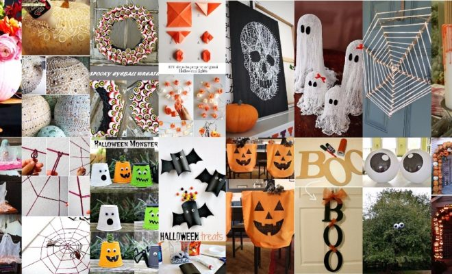 51 Cheap & Easy To Make DIY Halloween Decorations Ideas