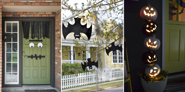 20 Easy (And Cheap!) DIY Outdoor Halloween Decoration Ideas