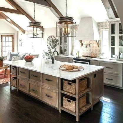 Farm Style Kitchen Island Vintage Farmhouse Kitchen Inspirations