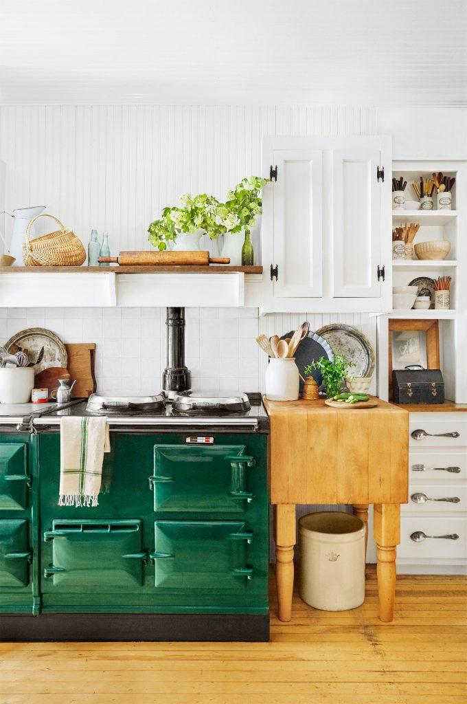 Vintage Farmhouse Style Kitchen Island 6