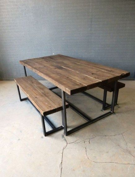 43 Perfect Vintage Wood Industrial Furniture Design Ideas | Home