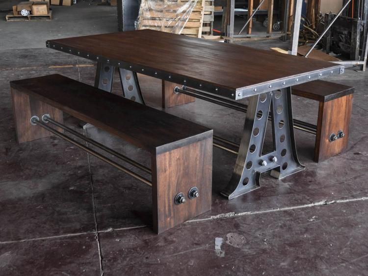 60+ INSPIRING VINTAGE WOOD INDUSTRIAL FURNITURE DESIGN IDEAS