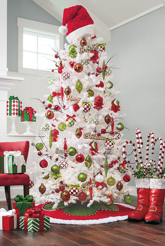 Top White Christmas Tree Decorations - Christmas Celebration - All
