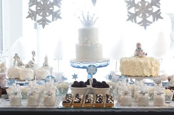 Winter White Theme Party Ideas | Theme Party Ideas | Winter party