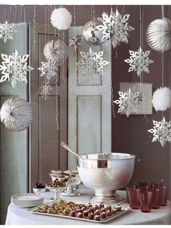 Fascinating Winter White Party Decoration Ideas34 | Branding