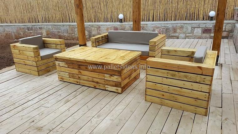 Stunning And Cheap Ideas for Wood Pallet Furniture | Wood Pallet