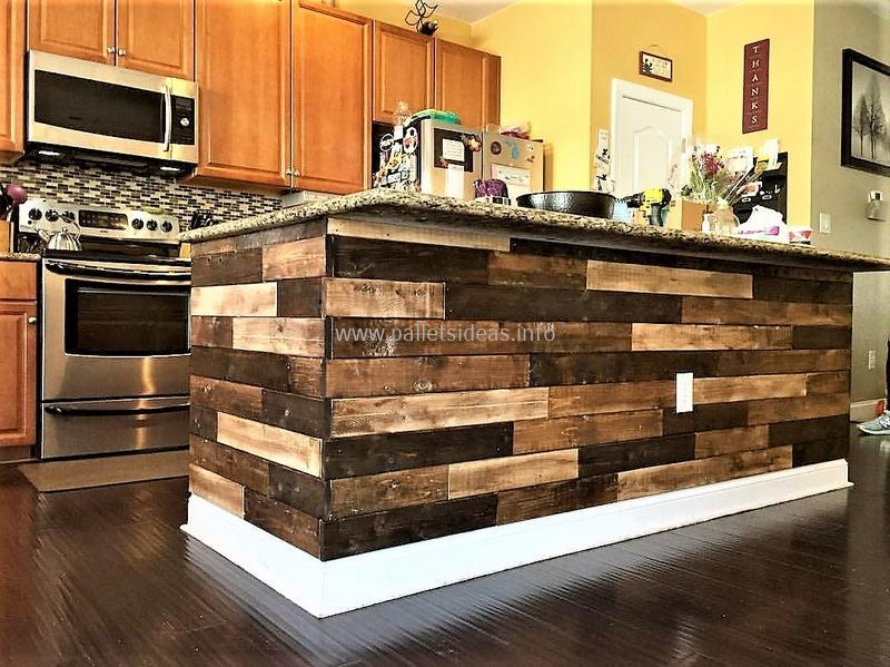 80 Ideas for Wood Pallet Made Kitchens | DIY Motive