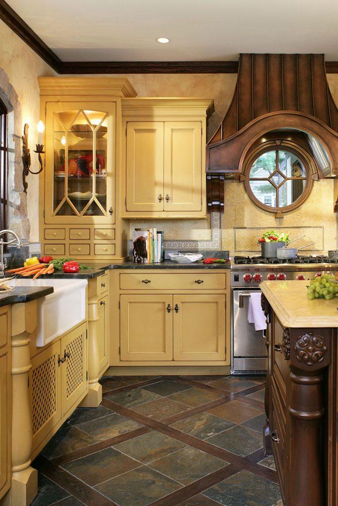 Yellow Kitchen Designs 1