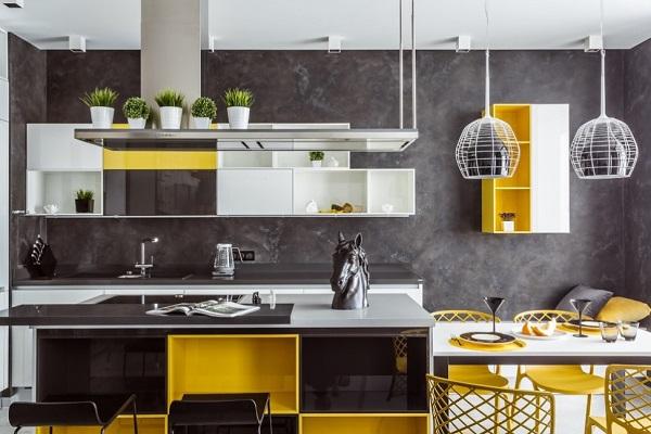 Yellow Kitchen Designs, Decor Ideas, Photos | Home Decor Buzz