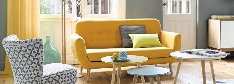 150 Inspiring Yellow Sofas to Perfect Living Room Color Schemes - DecOMG