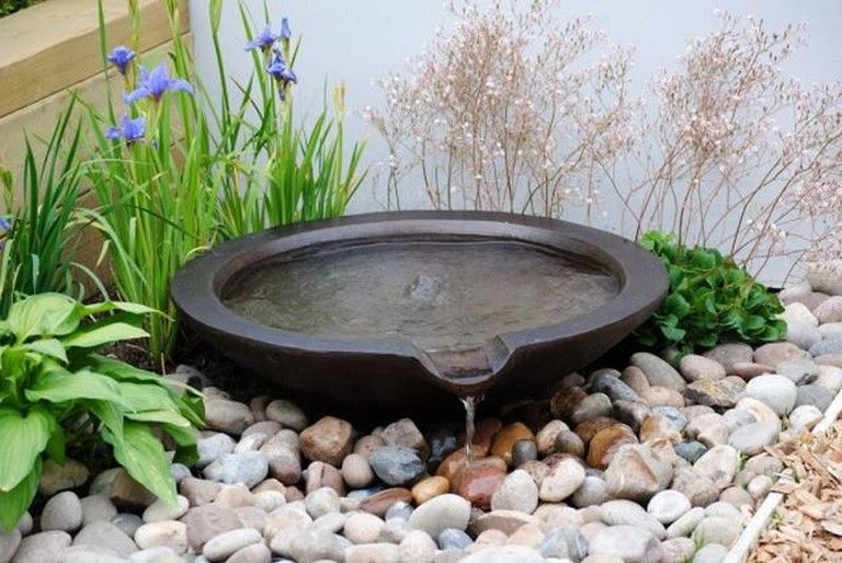 35 Good Zen Water Fountain Ideas for Garden Landscaping | garden