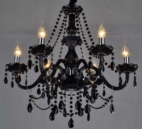 Affordable chandeliers black